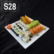 SUSHI SET 28+4 ks